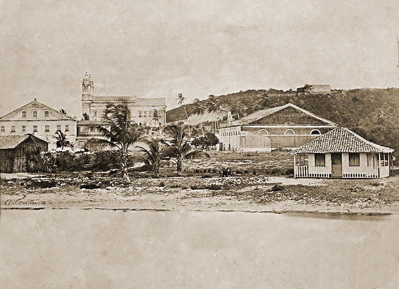 Praça-Sinimbu-numa-foto-de-Abílio-Coutinho-de-18691