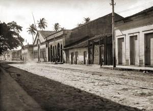 Fundição Alagoana na esquina da Comendador Saraiva e Rua do Rayol