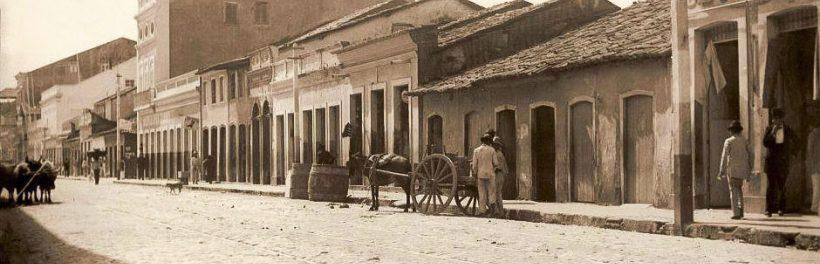 Rua Sá e Albuquerque em Jaraguá