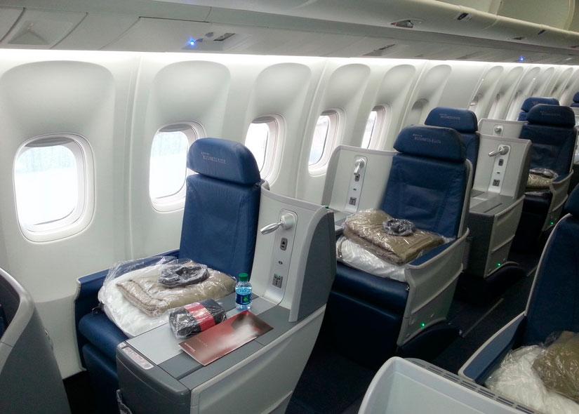 Governo prop e liberar voos de autoridades na classe for Migliori cabine business class 2017